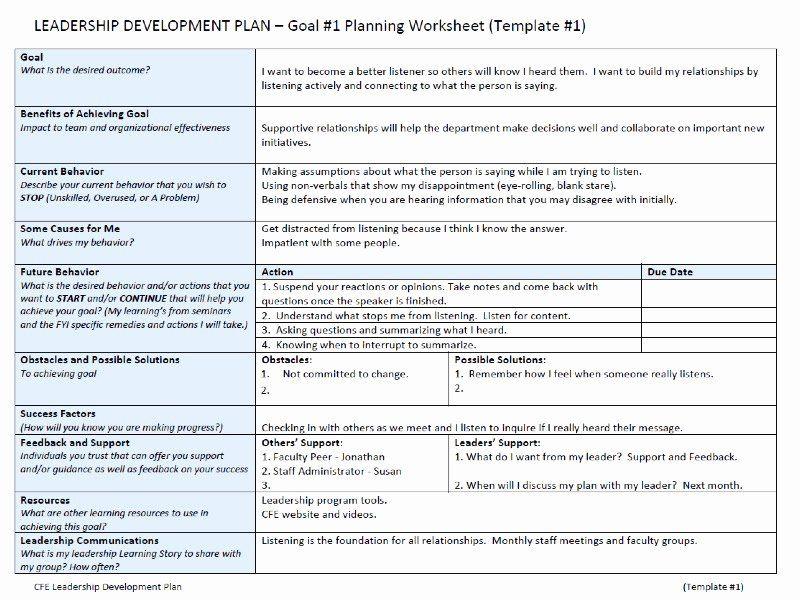 Leadership Development Plan Template Inspirational Leadership Development Plan In 2021 Action Plan Template Leadership Development Business Plan Template Free