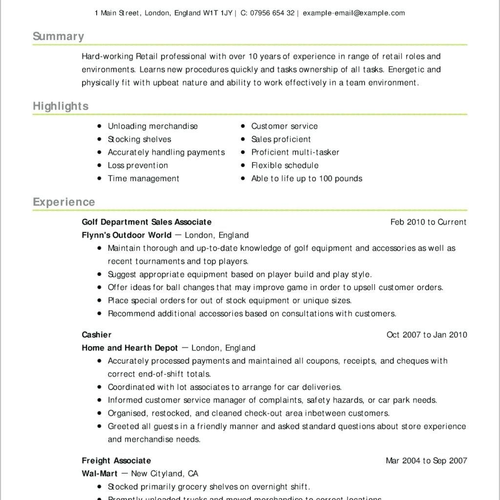 writing tips to make resume objective with examples