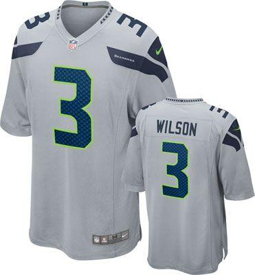 3636ace2b Seattle Seahawks Nike Jersey, Alternate Grey Color #seahawks #nfl #seattle