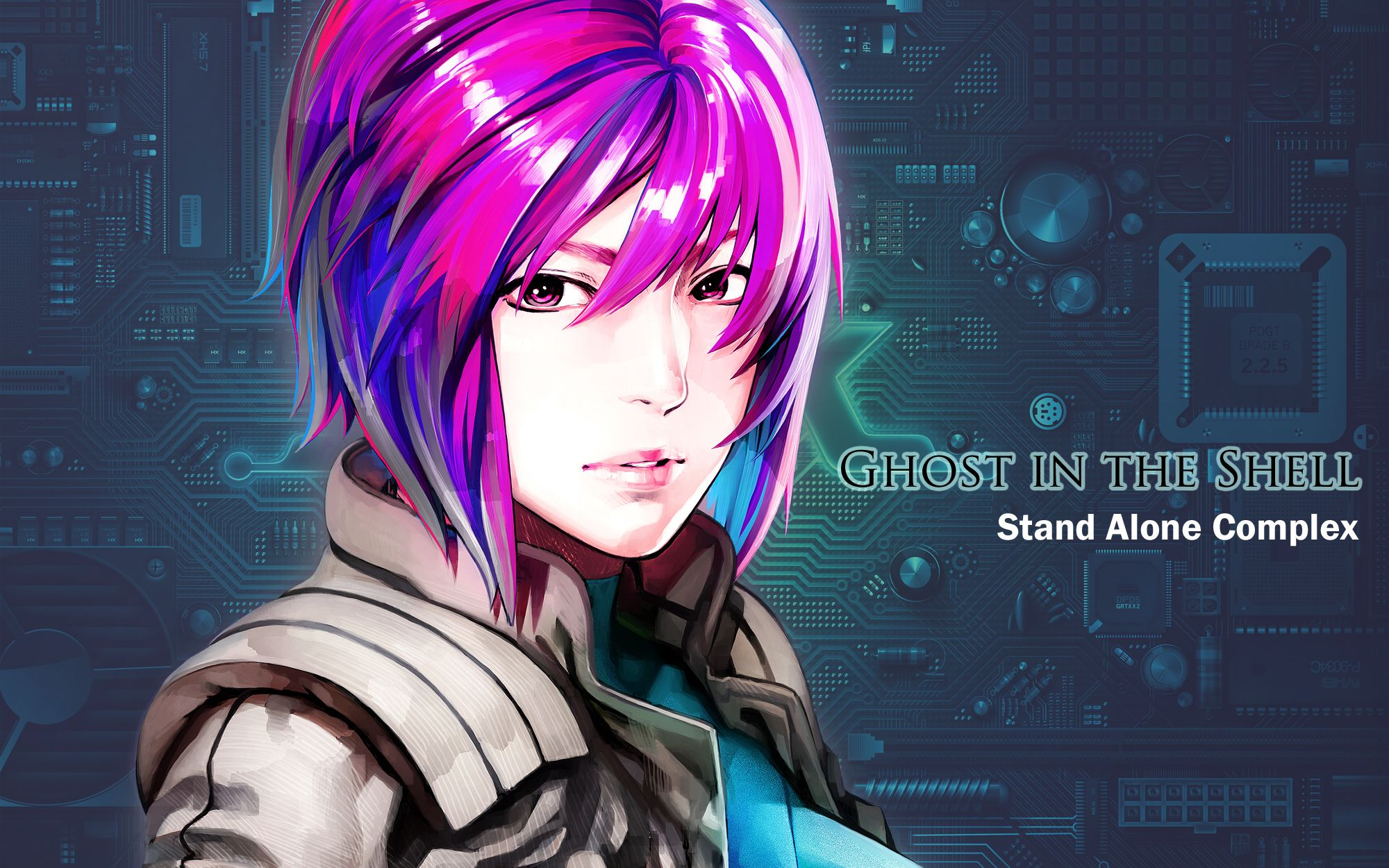 ghost in the shell stand alone complex Ghost in the