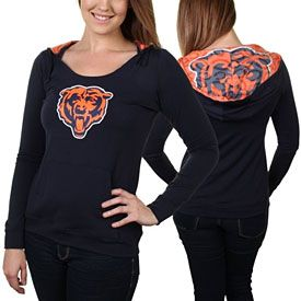 5d47f7ac Get this Chicago Bears Ladies Sublime Hooded Sweatshirt at ...
