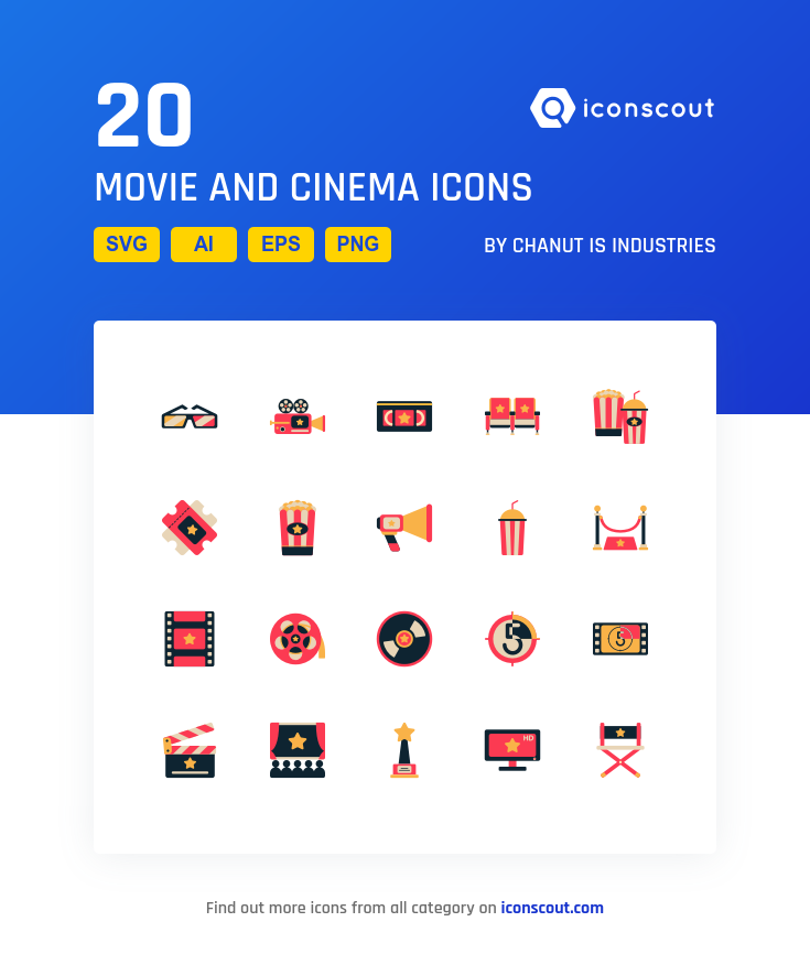 Download Download Movie And Cinema Icon pack - Available in SVG ...