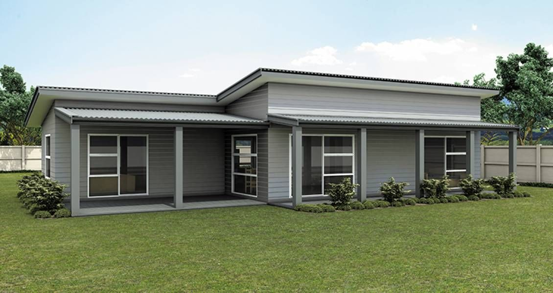 single storey flat roof house plans in south africa