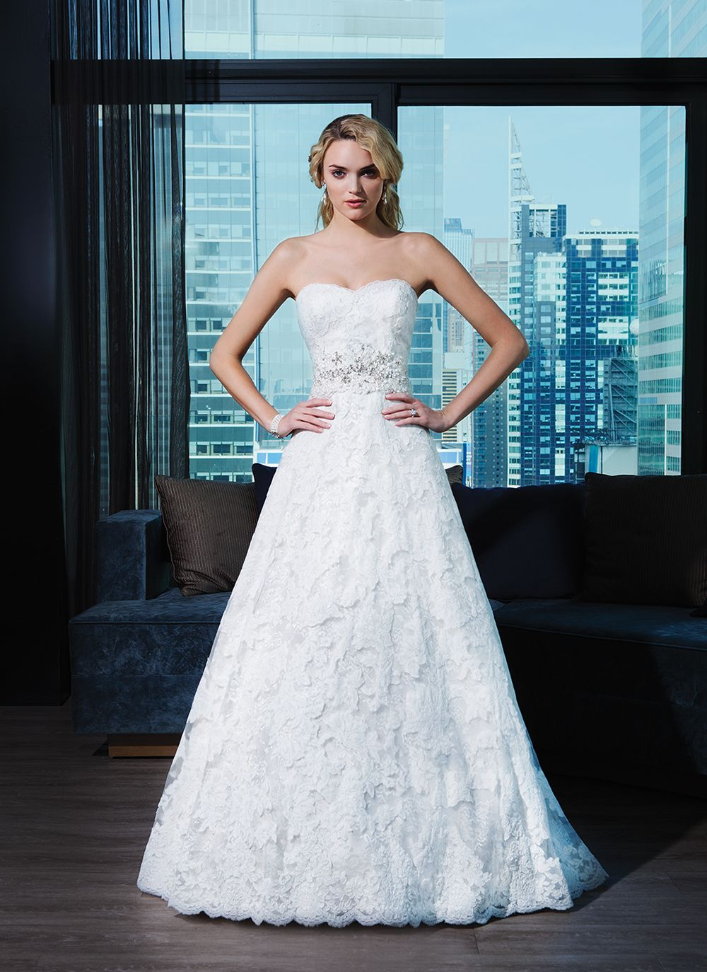 Justin Alexander signature wedding dresses style 9700 | Beaded lace ...