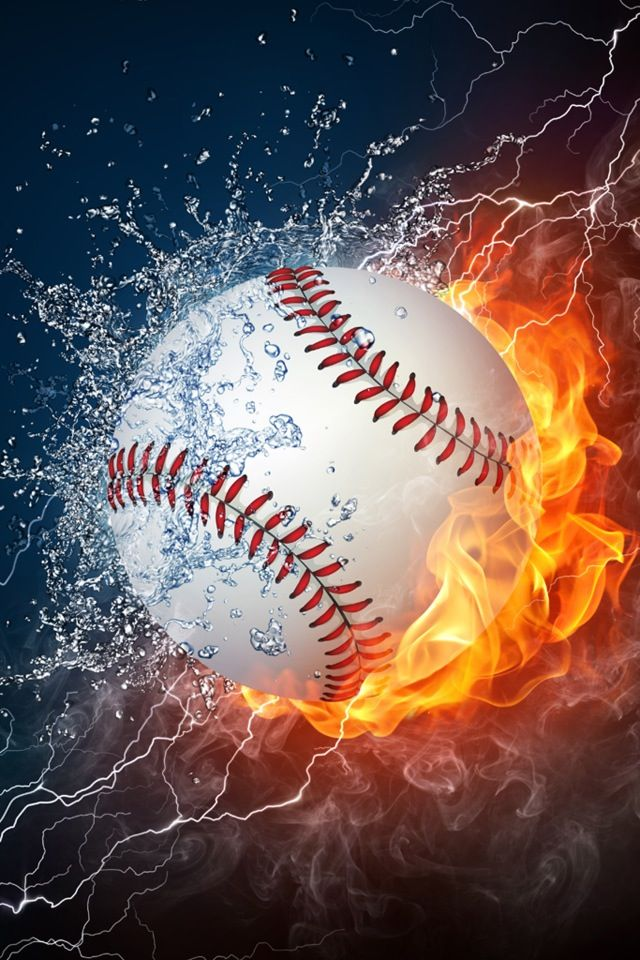 Photo of Soccer Ball on Fire and Water. 2D … | Stock image | Colourbox