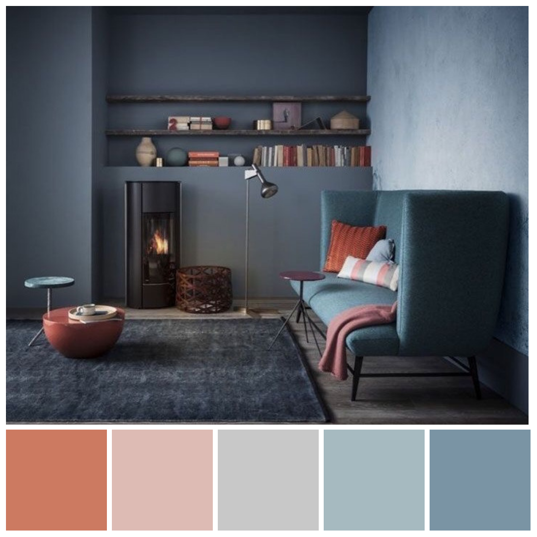 How To Use Terracotta On Your Autumn Living Room Decor Color Palette Living Room Dining Room Colors Living Room Color Schemes