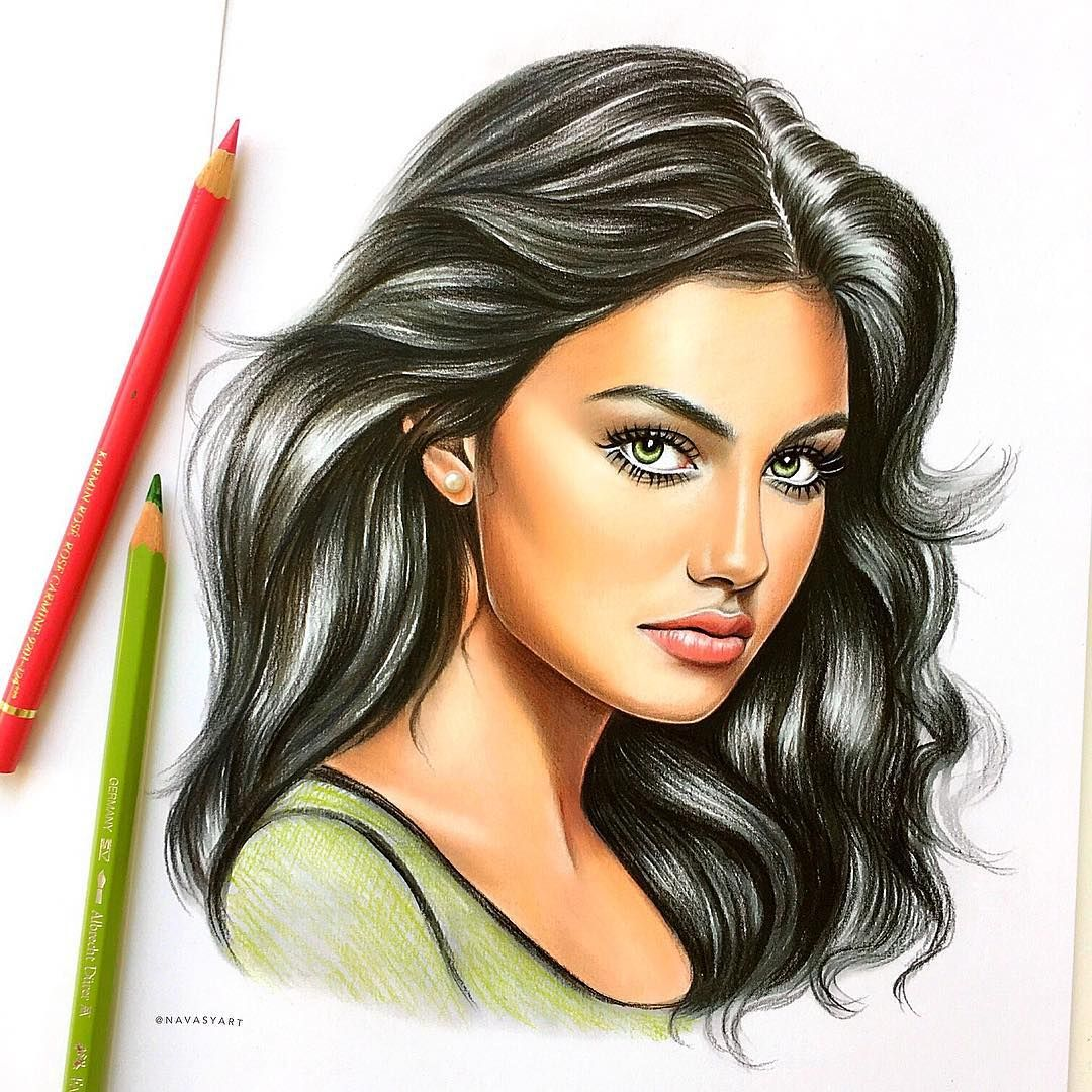 Super Gorg That Green With Images Color Pencil Art
