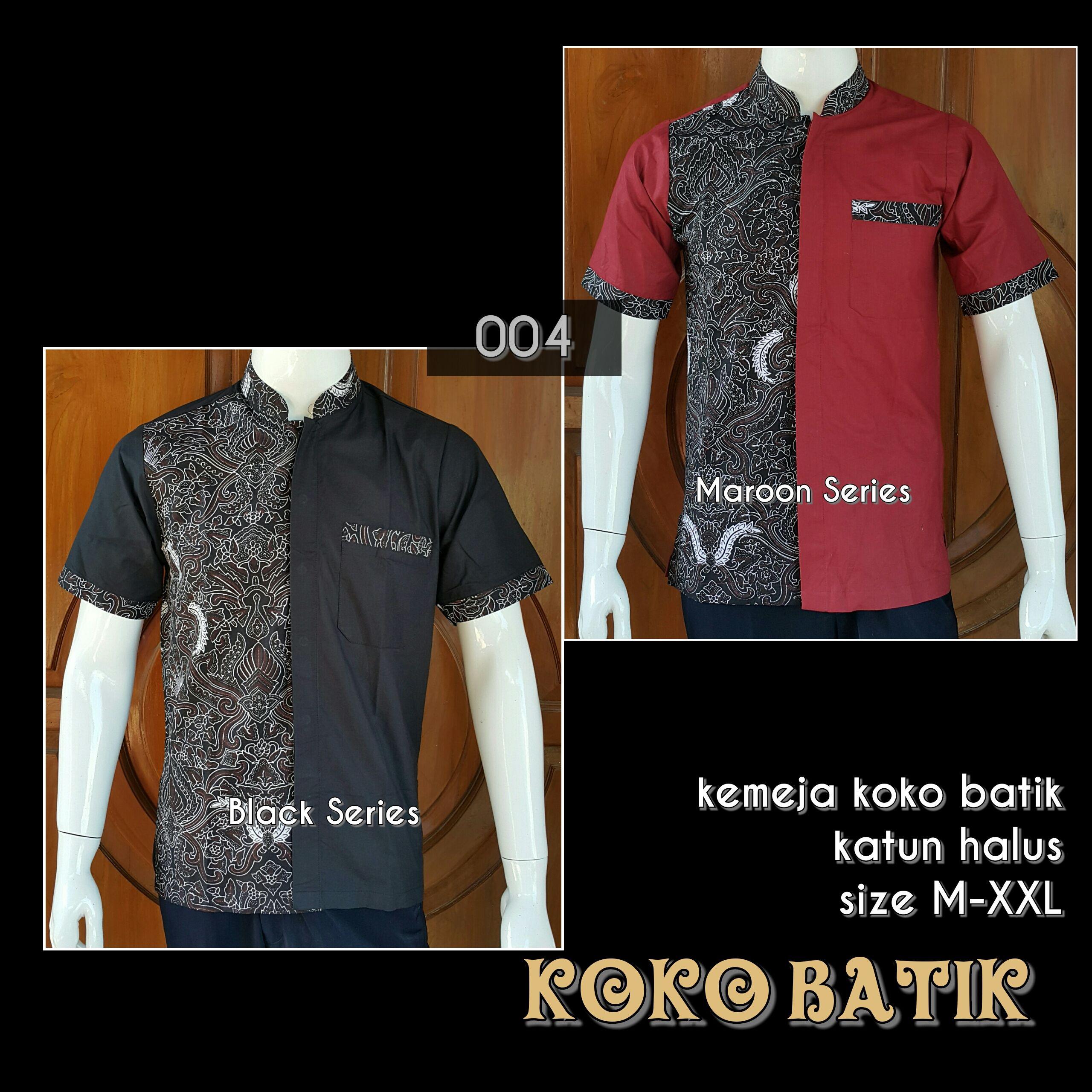 Grosir Baju Batik Modern Pekalongan Online 8dacabe663