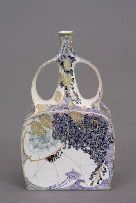 Vase Model 169, designed by: Jurriaan Kok (1861-1919), Rozenburg, 1895/1900, Museo Internazionale delle Ceramiche Faenza