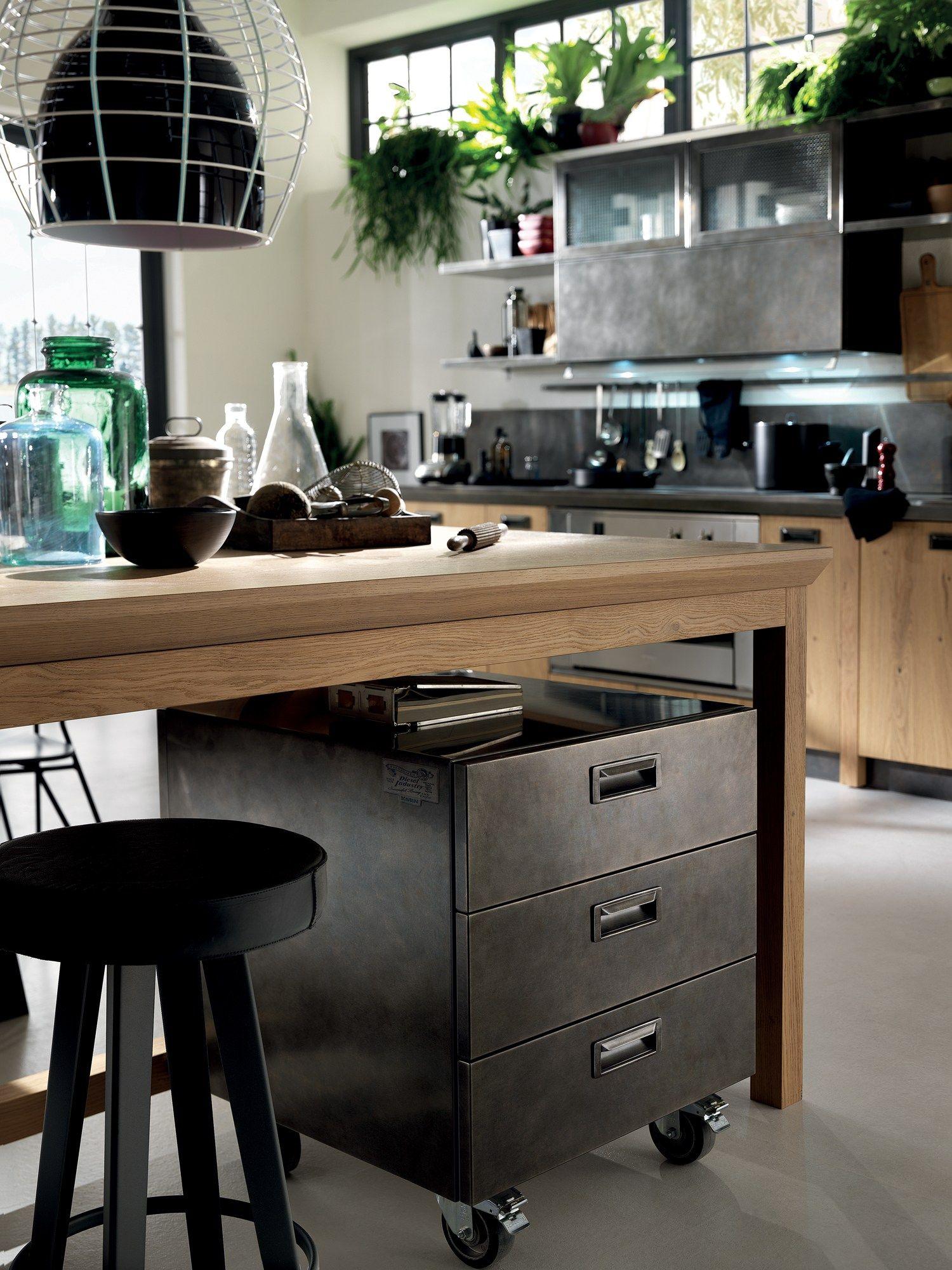 Cucina componibile diesel social kitchen linea scavolini - Smontare cucina componibile ...