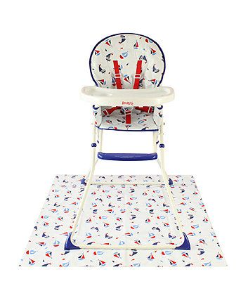 Miraculous Red Kite Folding Highchair With Splash Mat Baby Red Kite Dailytribune Chair Design For Home Dailytribuneorg