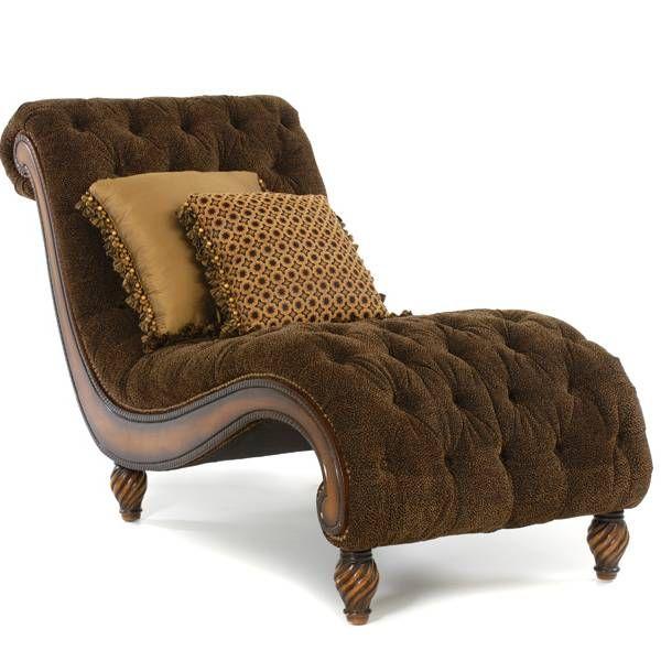 "Rachlin ""Tonga"" Tufted Chaise"