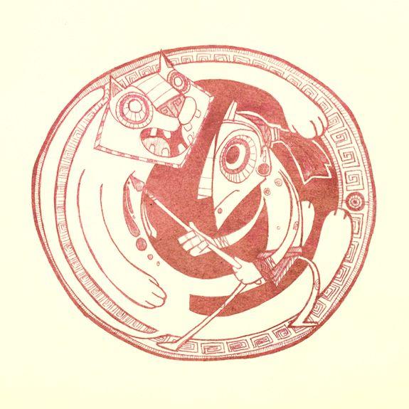 Mayan legend - Story Art by Junior Arce, via Behance