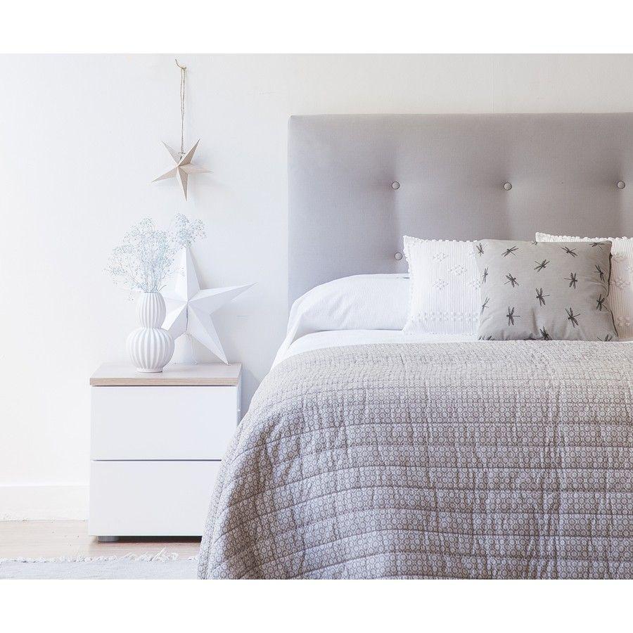 Dormitorio Kenay ~ Trend mesita de noche blanco natural Dormitorio, Mesas y