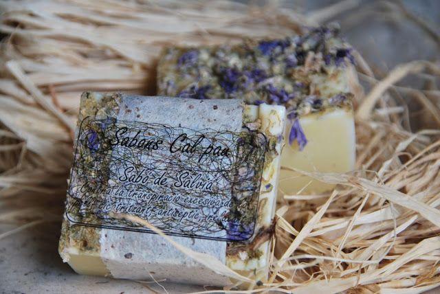 Jabón de Salvia | Jabones y Velas Cal Pau