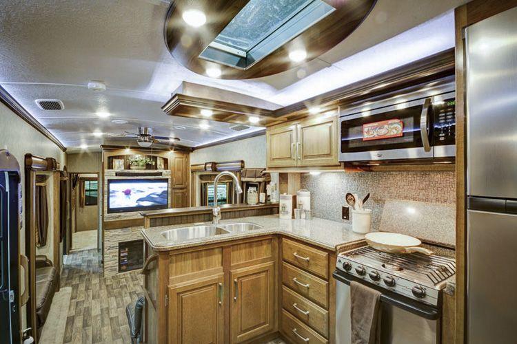 Montana Kitchen Floor Plans Rv Interior Tiny House Interior