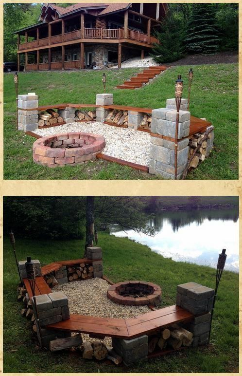 pin by leslie hidalgo driskill on pull two river ranch on best large backyard ideas with attractive fire pit on a budget id=24751