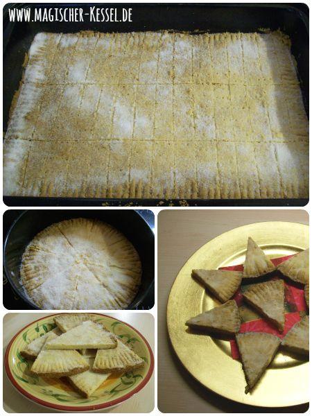 Baking Shortbread