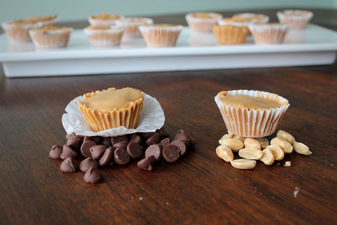 inside out Reeses peanut butter cups