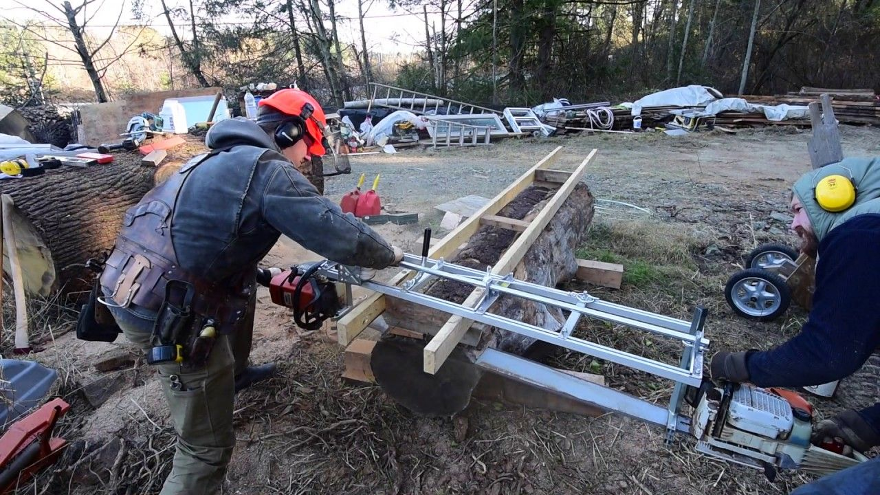 Chainsaw milling on vancouver island httpswwwyoutube