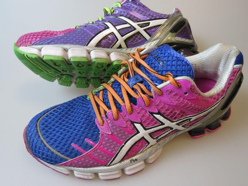 de66b1c0804f ... sweden asics gel kinsei 4 womens 9.5 medium running shoes t189n mosaic  white multi 5d64e b3e00