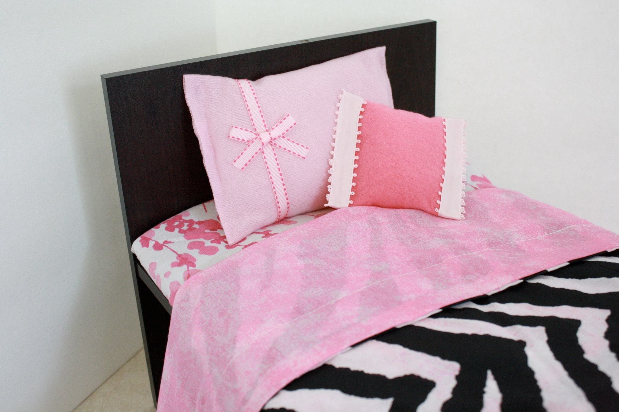 How to Make a Wooden 18 inch Doll Bed for about 10.00