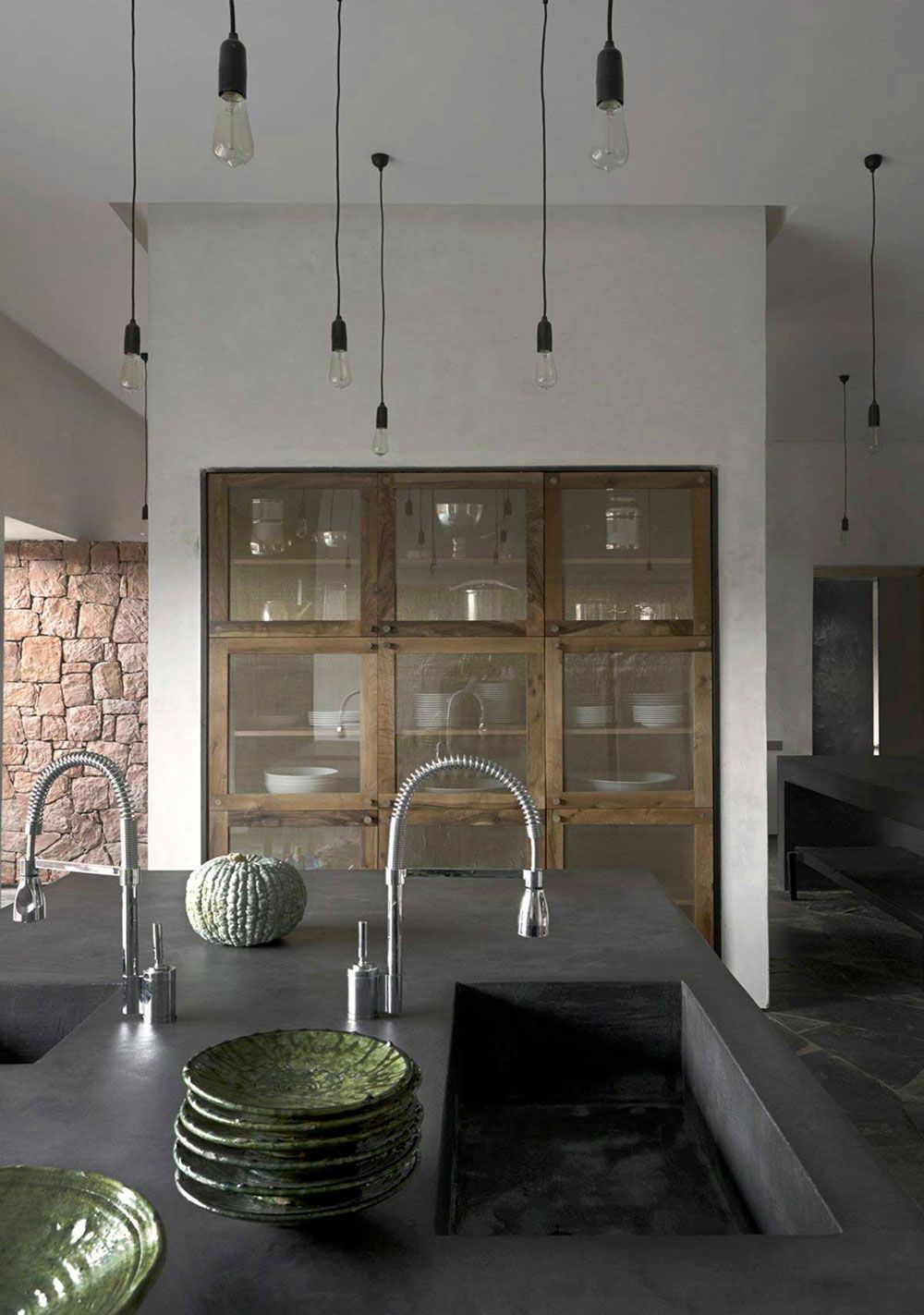 Moroccan Home Interior Industrial Minimal Inspiration Bathroom