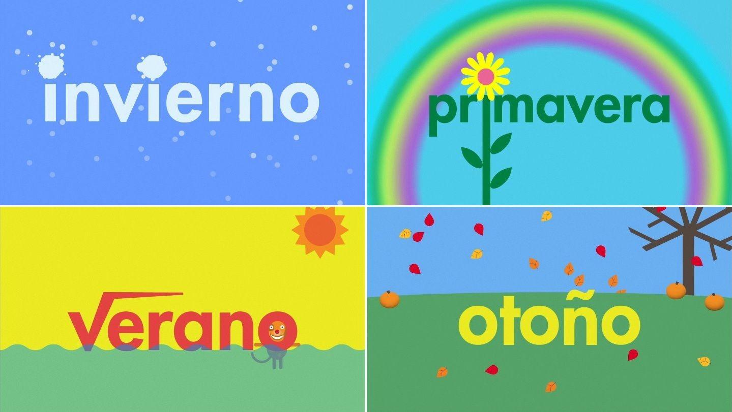 las estaciones the seasons in spanish let 39 s speak spanish spanish language learning. Black Bedroom Furniture Sets. Home Design Ideas