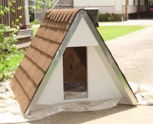24 Free Dog House Plans Peaked Roof A Frames Dog