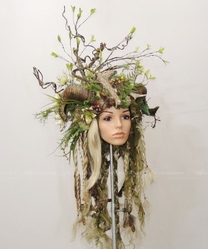 Forest Queen Kostume Pinterest Costumes Headdress Und Headpiece