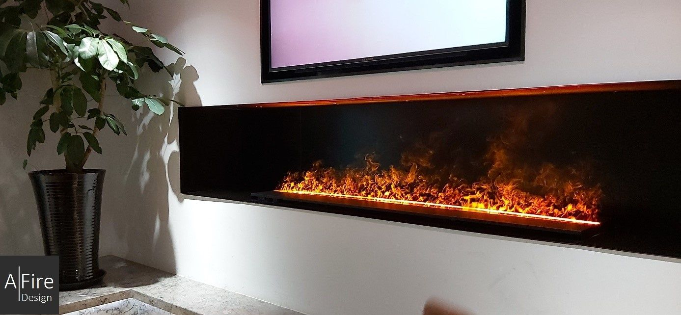 How Does A Water Vapor Electric Fireplace Work Steam Fireplaces Cheminee Electrique Cheminee Foyers Electriques