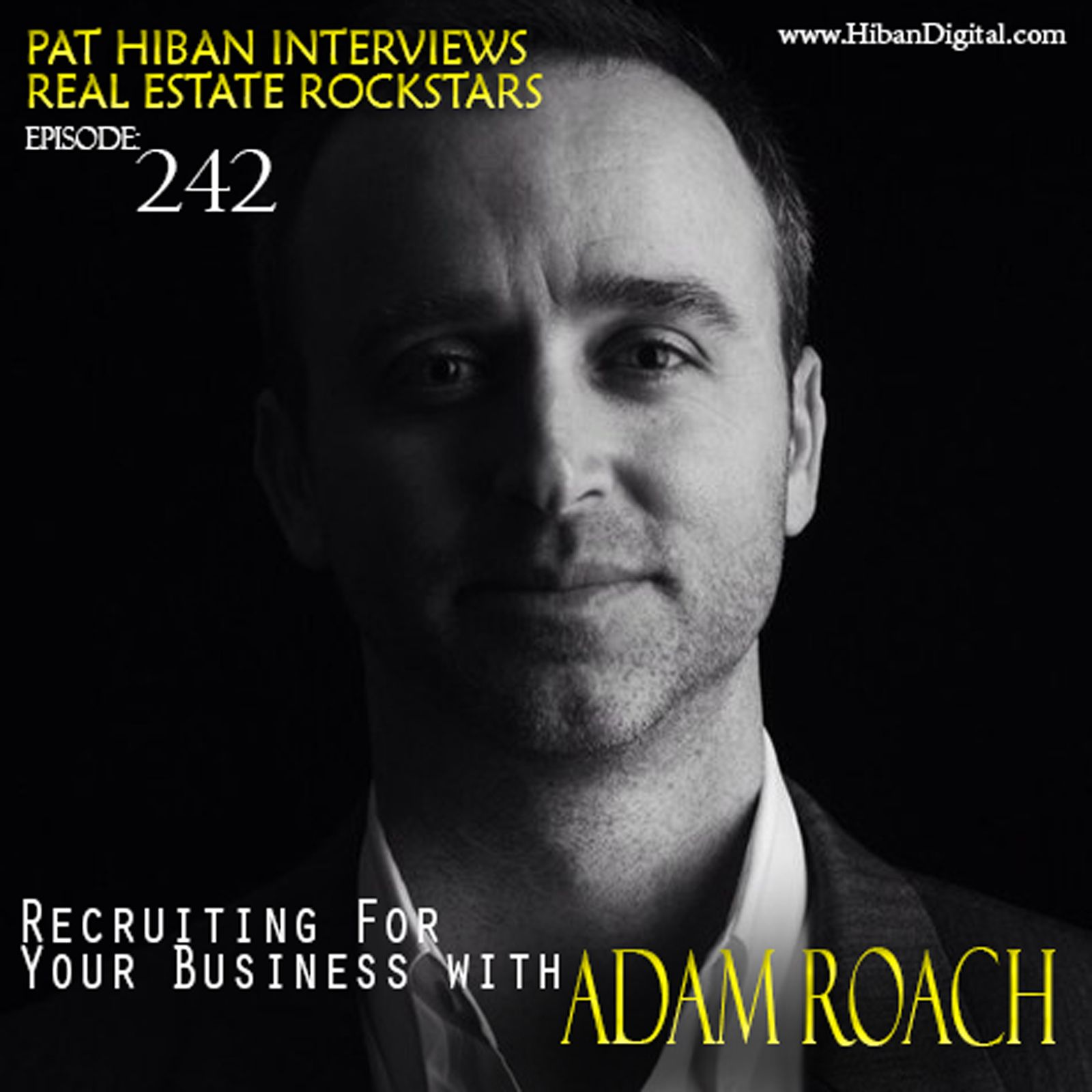 Adam Roach founded and created the first and only lead generation/communication system specifically for Keller Williams' Team Leaders, called recruiting | bridge. Adam is a well-liked team leader with extensive real-life experience in the real estate industry...  #realestate #podcast #pathiban #hibandigital #hibangroup #HIBAN #realestatesales #realestateagent #realestateagents #selling #sales #sell #salespeople #salesperson #adamroach