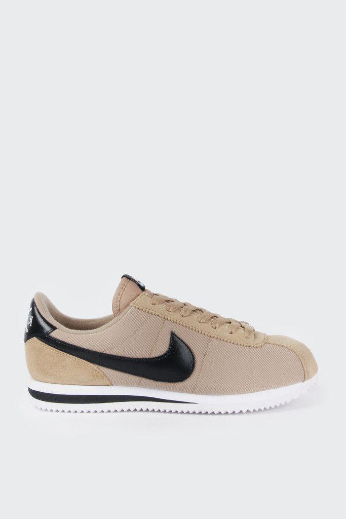 on sale 6f613 fdbed Nike Cortez Basic Premium QS - desert camo black-whiteFit  True to  sizeMaterial