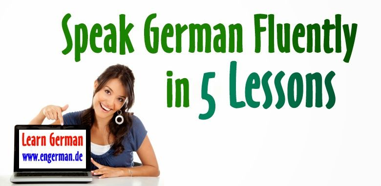 how to learn german fluently