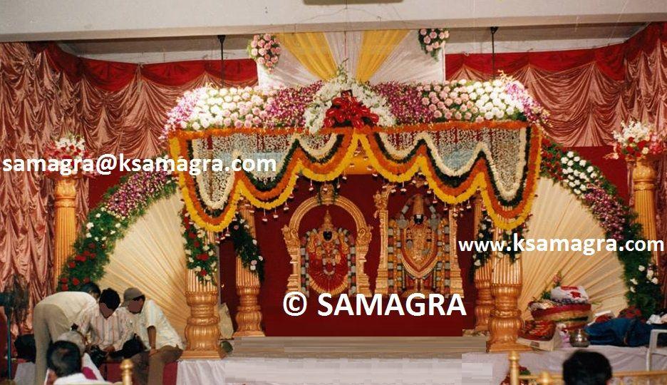 SAMAGRA Decorations Phone No 91 9491821138