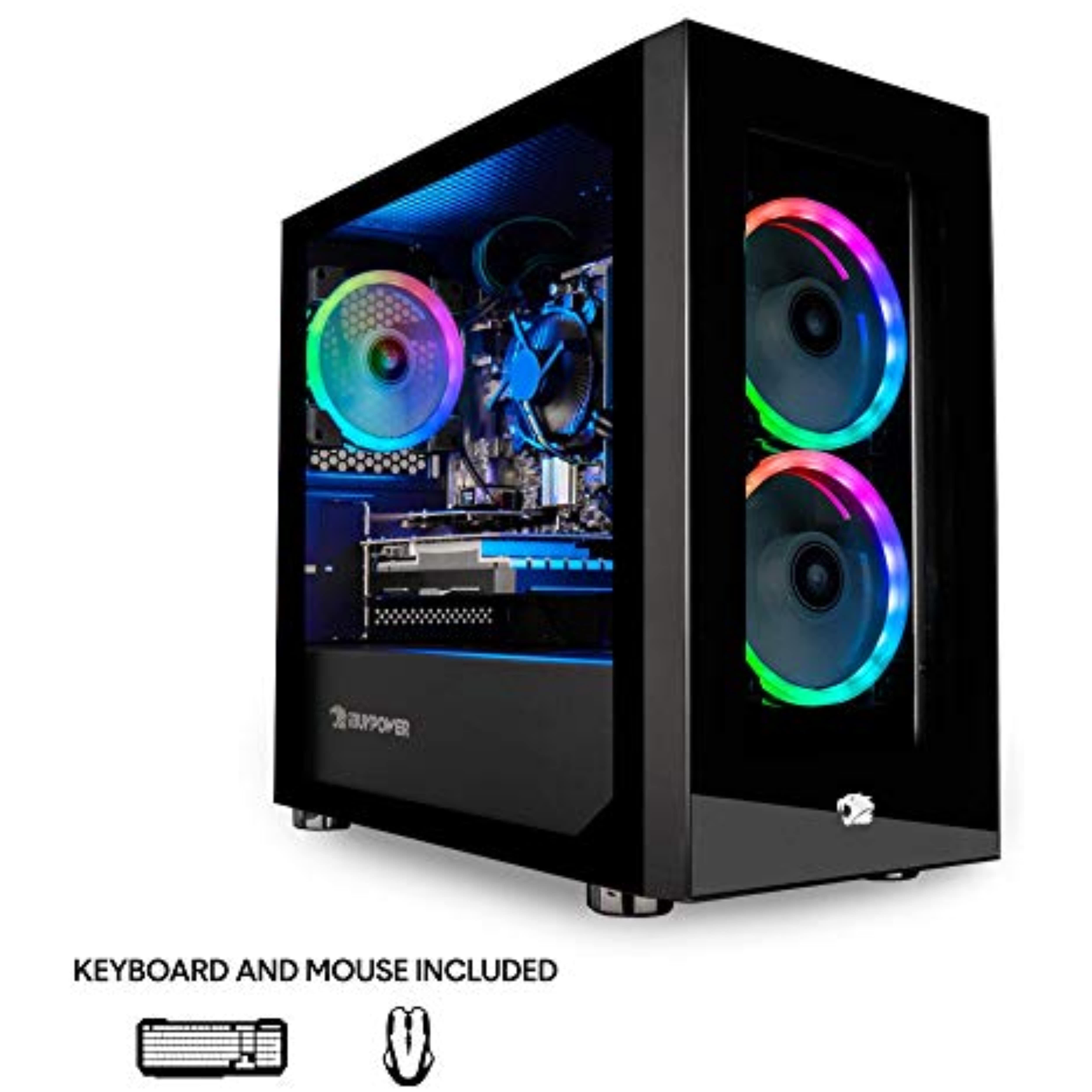 Ibuypower Gaming Pc Computer Desktop Element Mini 9300 Amd Ryzen 3 3100 3 6ghz Ddr4 Ram Gaming Pcs Gaming Pc