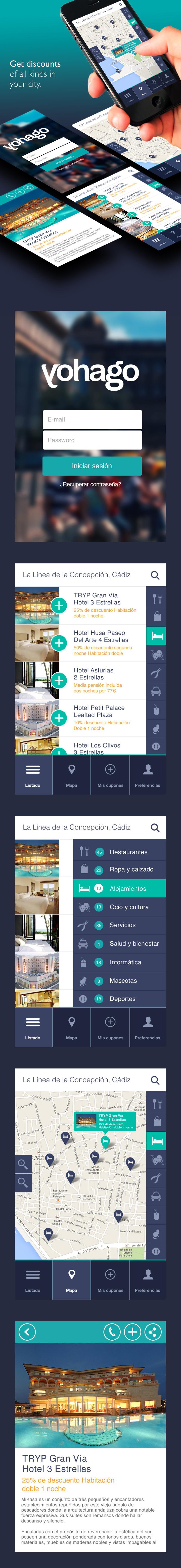 App Yohago Descuentos Tendances Iscomigoo Webdesign http://iscomigoo-webdesign.blogspot.fr/