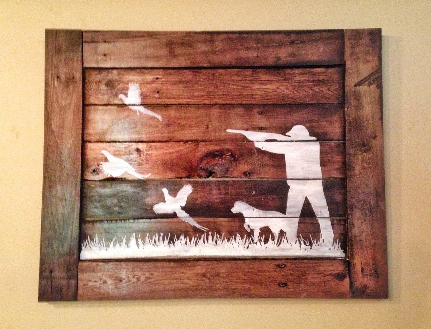Great Pheasant Hunting Wood Sign/ Hunters Home Decor By TheUniqueJunktique On  Etsy Https://