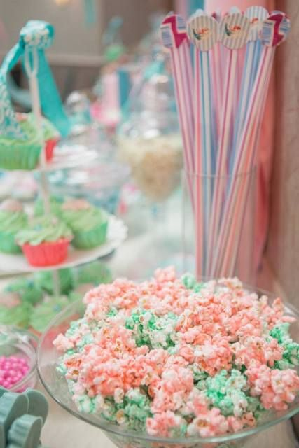 Vintage Mermaid Baby Shower Party Ideas Party Under The Sea