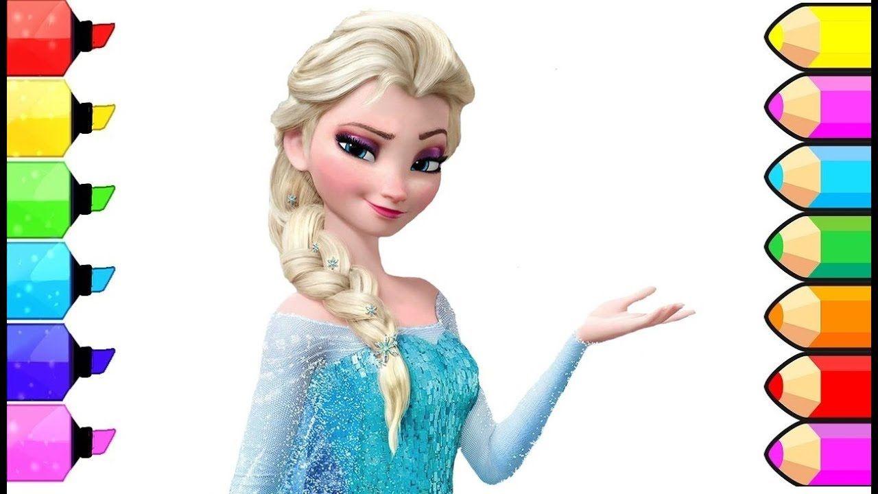 Ausmalbilder Für Kinder Anna Und Elsa : Disney Prinzessinnen Frozen Elsa Zeichnen Und Ausmalen F R Kinder
