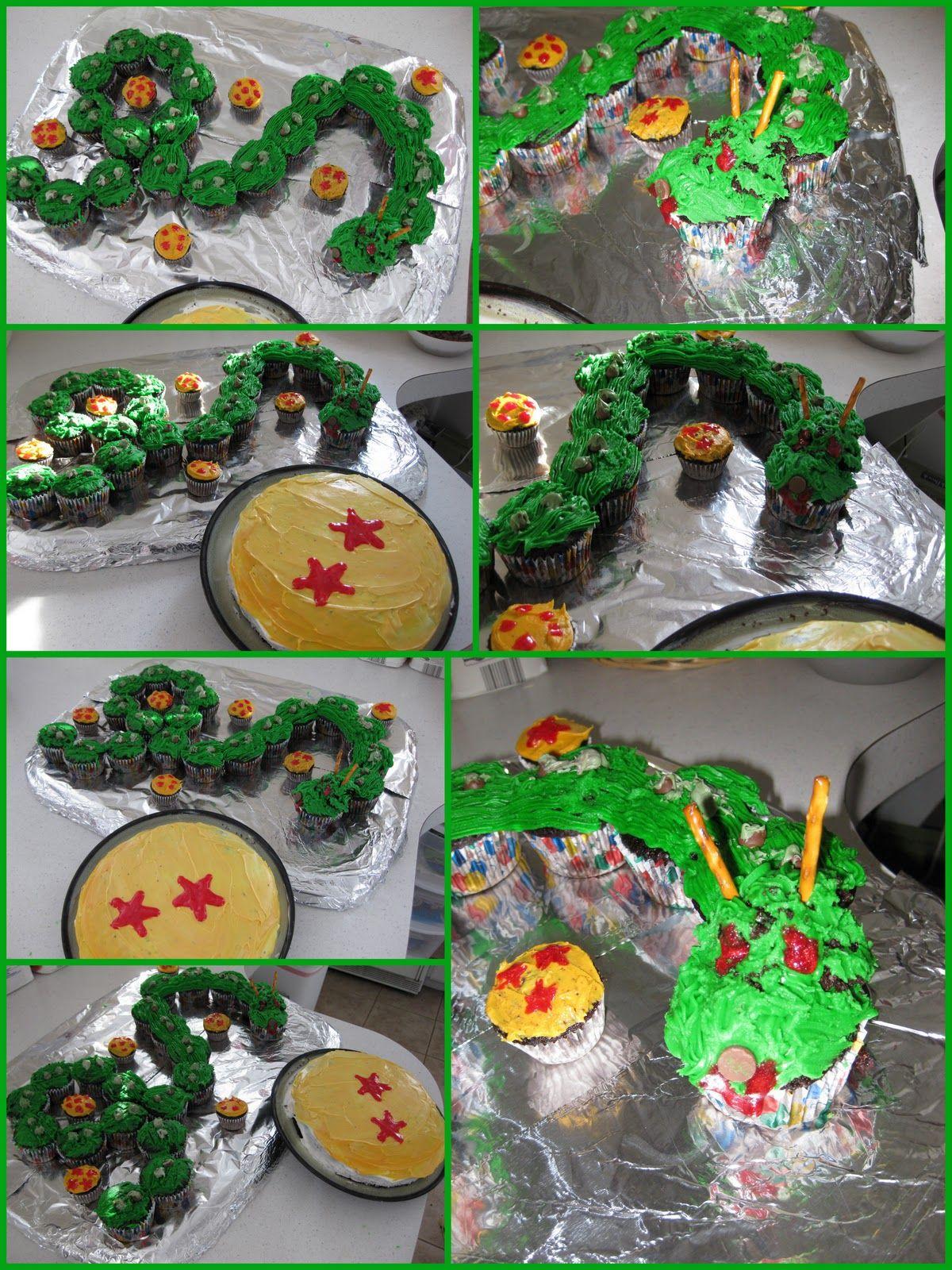 Dragonball Z Birthday Cake Video Game Birthday Party Pinterest