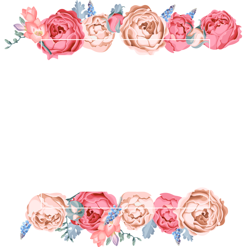 Watercolor Flowers Png Vector Psd And Clipart With: 2020 的 Watercolor Flower Frame, Watercolor Flower, Frame