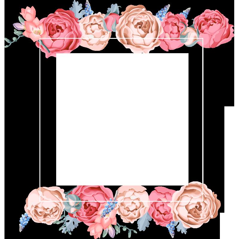 2020 的 Watercolor Flower Frame, Watercolor Flower, Frame