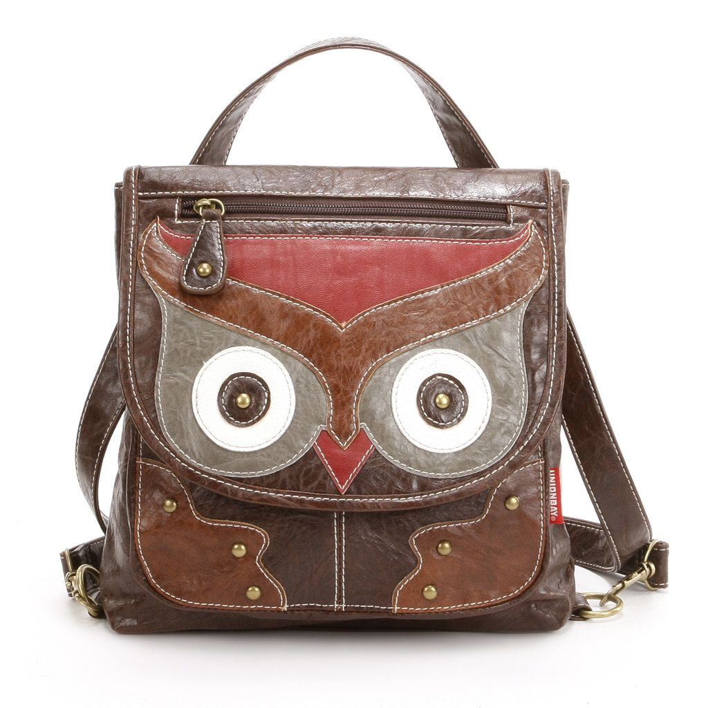 Unionbay Owl Convertible Backpack | Owl bags, Owl purse, Owl
