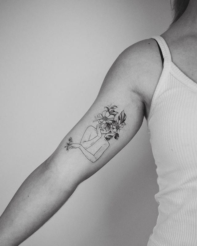 I love how my tattoos look - Transgender Heaven