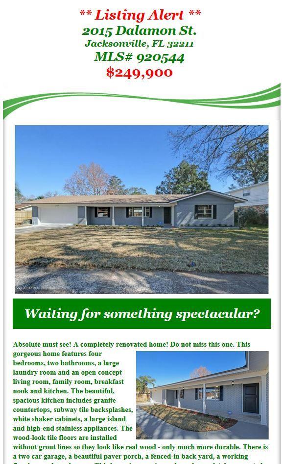 Listing Alert Completely Renovated Home In Arlingwood