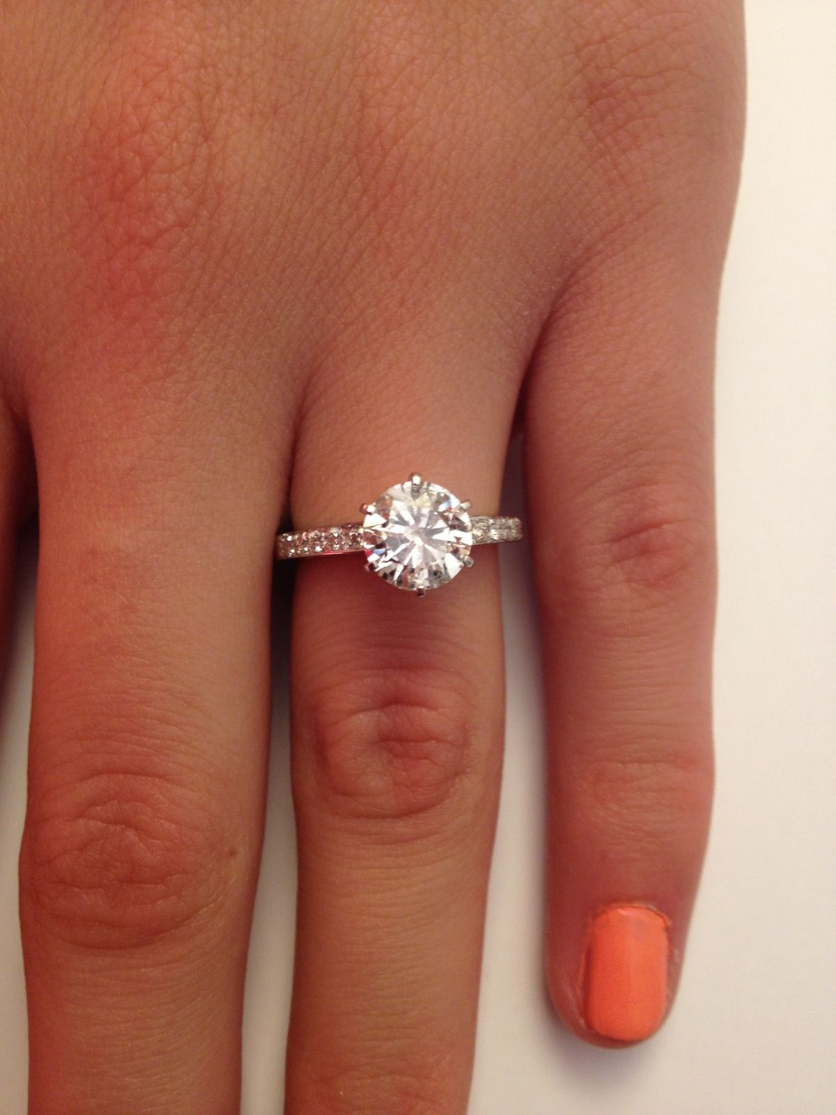 Moira Hughes Simple Is Perfect Engagement Ring