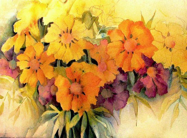 Marigolds by Ani Kin, via Flickr