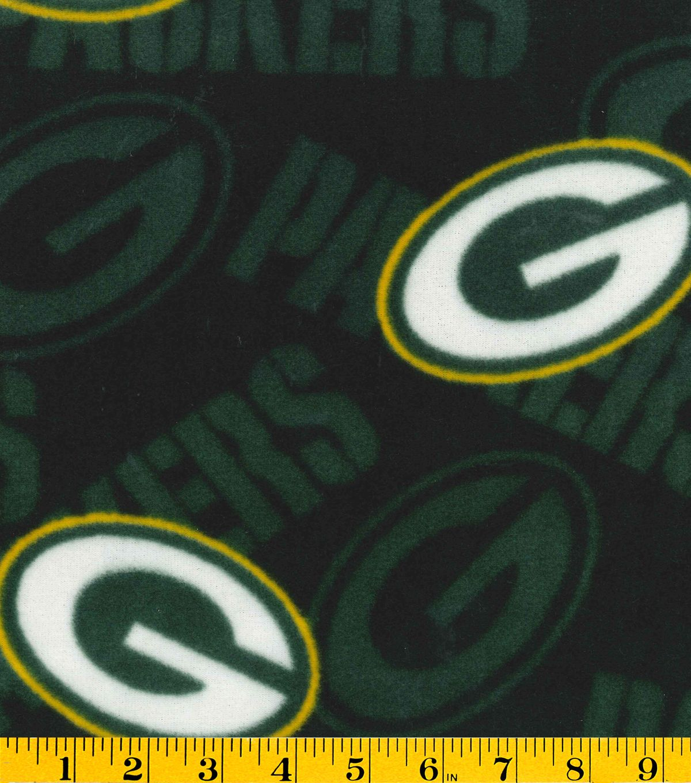 Green Bay Packers NFL Fleece Fabric