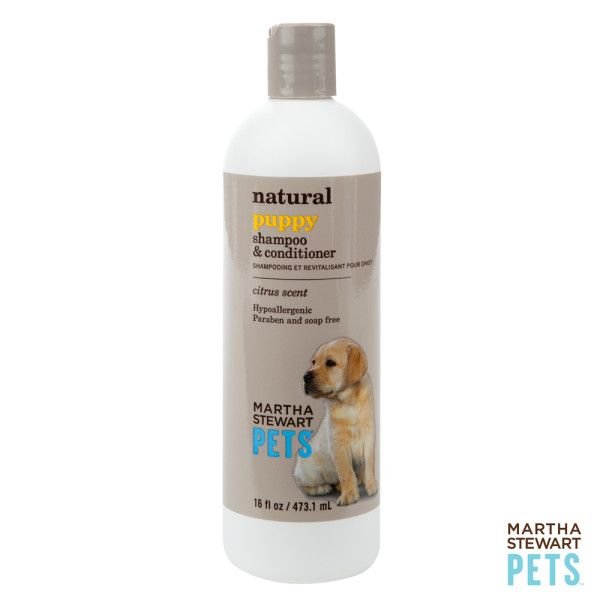 Gently Clean Puppy S Skin With The Martha Stewart Pets Natural